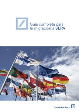 Guía completa para la migración a SEPA
