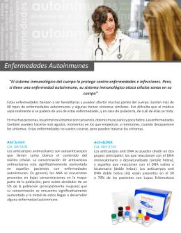 Enfermedades Autoinmunes - Diagnóstica Internacional