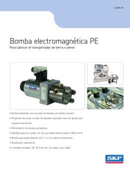 Bomba electromagnética PE