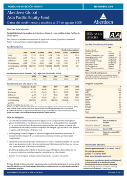 Aberdeen Global - Asia Pacific Equity Fund
