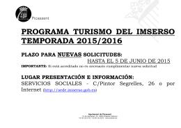 FOLLETO VACACIONES IMSERSO 2015-16.rtf