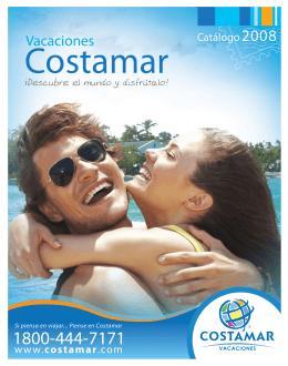 Vacaciones - Costamar Agencias