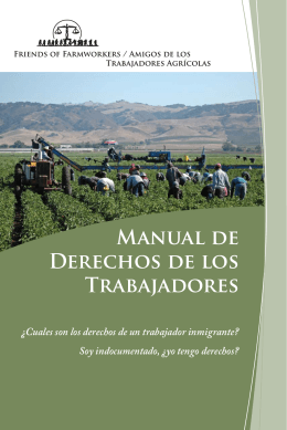 Workers Rights booklet Spanish.indd