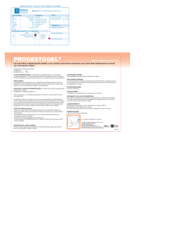 PROGESTOGEL® - Besins Healthcare
