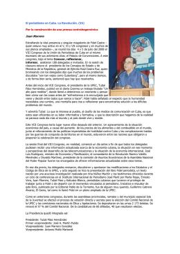55 - UPEC Unión de Periodistas de Cuba