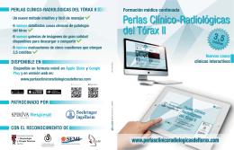 Folleto Presentación - Perlas Clínico Radiológicas Del Tórax