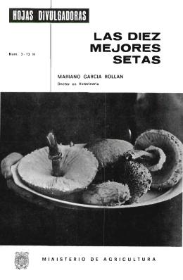 03/1973 - Ministerio de Agricultura, Alimentación y Medio Ambiente