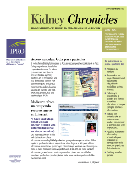 Kidney Chronicles - Network of New England