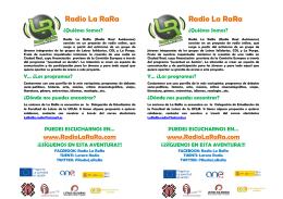 Radio La RaRa Radio La RaRa