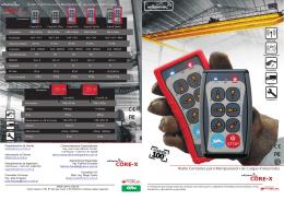 Radio Controles para Manipulación de Cargas Industriales