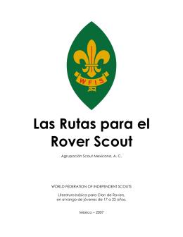 Las Rutas para el Rover Scout