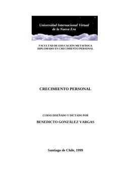 CRECIMIENTO PERSONAL - Educación y Pedablogía para el Siglo