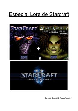 Especial Lore de Starcraft