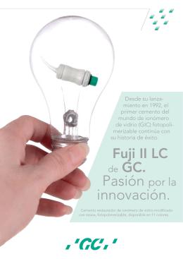 Pasión por la innovación.