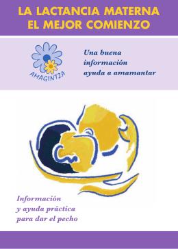 Lactancia materna el mejor comienzo