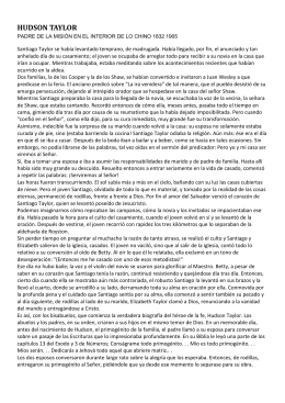 HUDSON TAYLOR - Recursos para el Ministerio Infantil