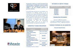 Folleto RC Arbitraje - QP
