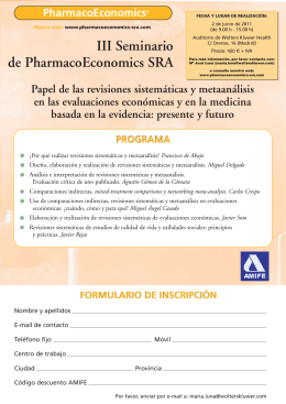 Folleto Pharmaco_Folleto Pharmaco