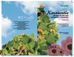 el xoconostle - Instituto Nacional de Investigaciones Forestales