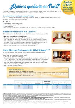 ¿Quiéres quedarte en París?