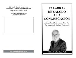 2012-01-18 Saludo a - Gran Carpa Catedral