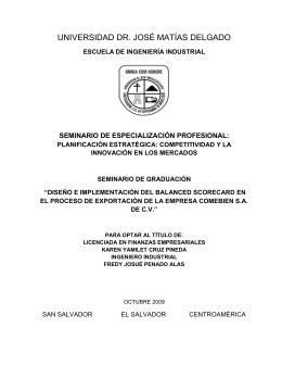 páginas preliminares - Universidad Dr. José Matías Delgado