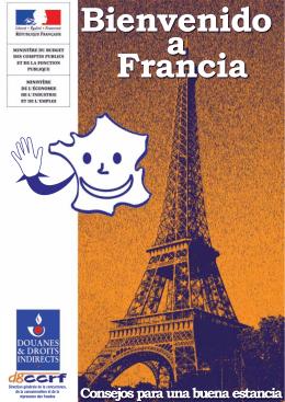 Bienvenido a Francia