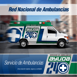 Red Nacional de Ambulancias