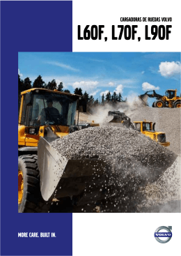 CARGADORAS DE RUEDAS VOLVO - Volvo Construction Equipment