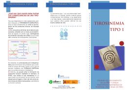 tirosinemia tipo 1