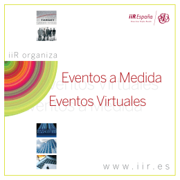 Eventos Virtuales Eventos a Medida