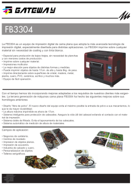 FB3304 - Moras       Tecnología para la Industria Gráfica