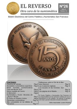 Nº26 - Centro Filatélico y Numismático