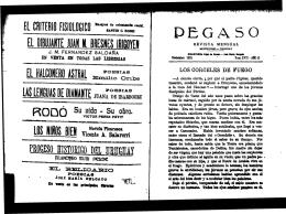 PEGASO - Publicaciones Periódicas del Uruguay
