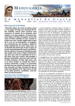 Un manantial de Gracia 40 Junio 2013.indd