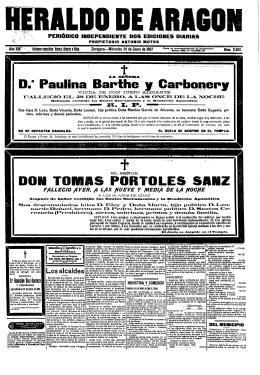 Heraldo de Aragón 19070130