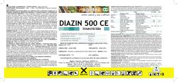 DIAZIN 500 CE insecticida