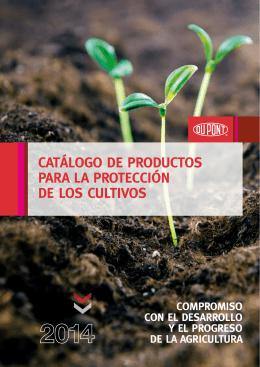 Catálogo de ProduCtos Para la ProteCCión de los Cultivos