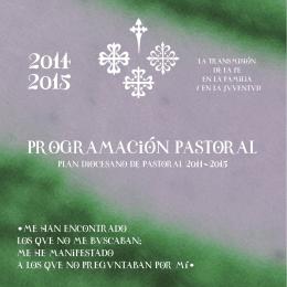 Descargar Programación Pastoral