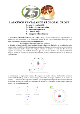 LAS CINCO VENTAJAS DE Z5 GLOBAL GROUP
