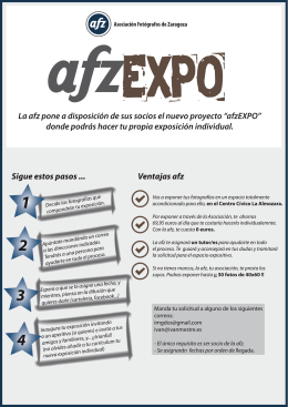 Folleto afzEXPO