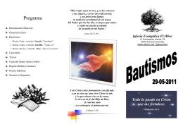 Bautismos: Yaneth, Gizellth y Tino