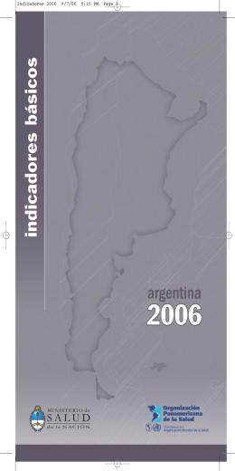 Indicadores y datos básicos 2006