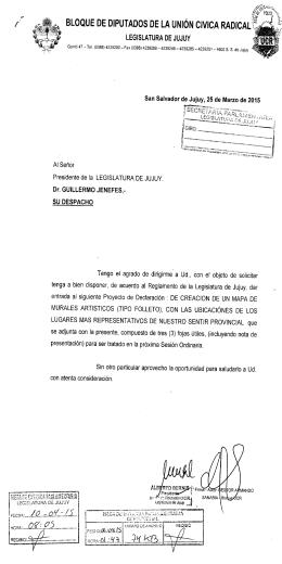 ÿþ3 8 5 - D P - 1 5 - Legislatura de Jujuy