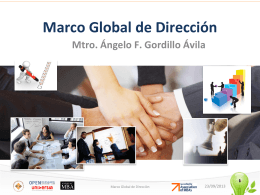 Marco Global de Dirección