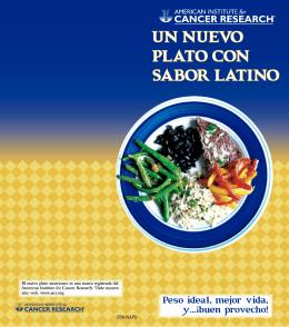 un nuevo plato con sabor latino