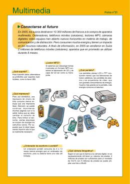 Ficha 21 : Multimedia