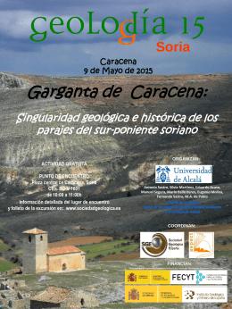 Soria - Sociedad Geológica de España