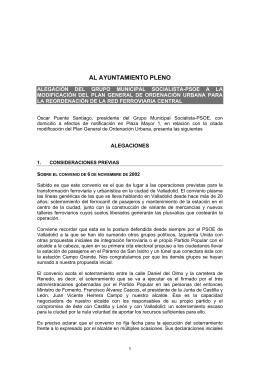 documento - Grupo Municipal Socialista Ayuntamiento de Valladolid