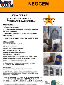 ESPECIALIDADES QUIMICAS NEOQUIM, S.L.L.